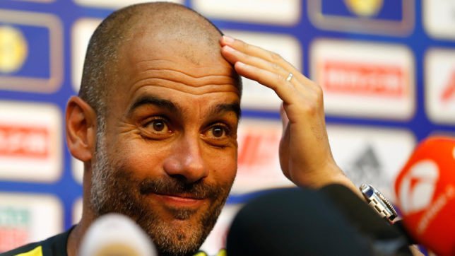 Manchester City are not the only favourites to win the UEFA Champions League: Pep Guardiola