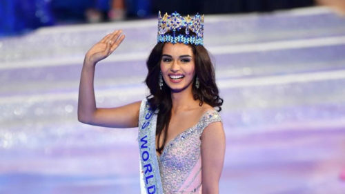 Shiv Sena taunts BJP over Manushi Chhillar's Miss World win