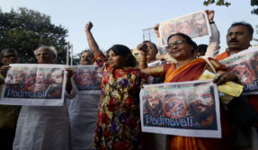 Padmavati row: Protests erupt in Delhi against Sanjay Leela Bansali's Padmavati