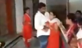 Caught on Cam: Telangana youth leader booked for assaulting wife