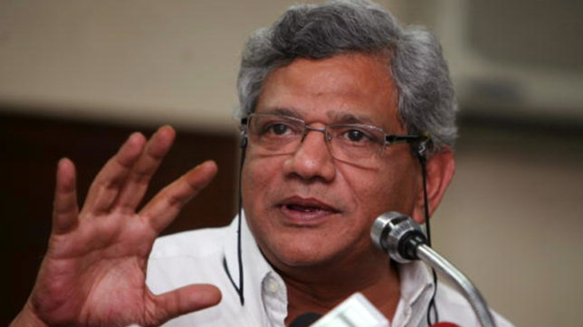 Trinamool-BJP feeding each other in Bengal Yechury