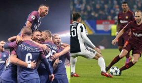 UEFA Champions League: PSG thrash Celtic to set scoring record; Barca rattles Juventus in goalless draw