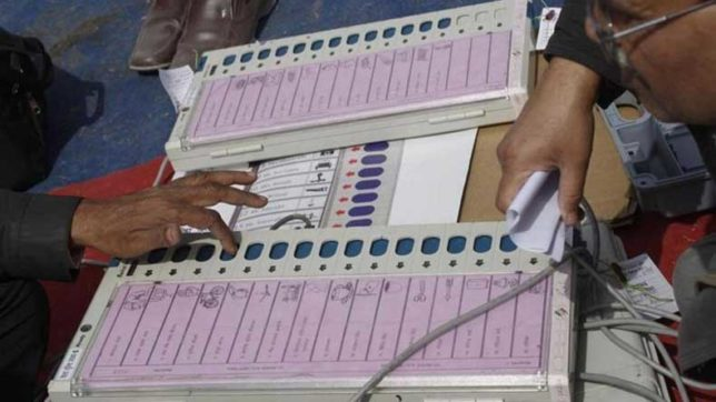 UP civic body polls: AAP seeks EC's probe after EVMs register votes for only BJP