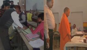 Uttar-Pradesh-civic-body-elections-LIVE-updates-CM-Yogi-Adityanath-casts-vote-in-Gorakhpur-as-polling-underway-for-first-phase