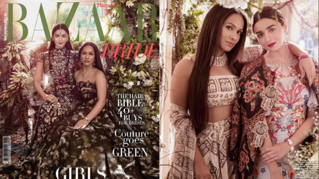 We are not charmed by Alia Bhatt and Masaba Gupta's look for this latest magazine cover
