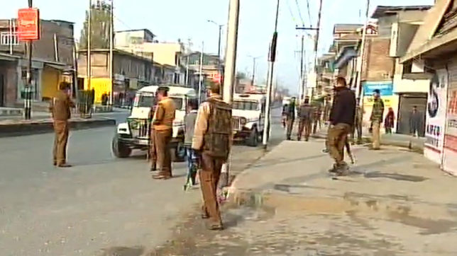Terrorist Attack On CRPF Convoy In Kashmir's Anantnag, 5 Jawans Injured