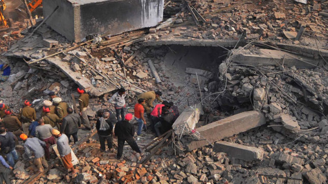 Death toll rises to 10 in Ludhiana factory collapse, 20 feared trapped; rescue operations underway in Punjab