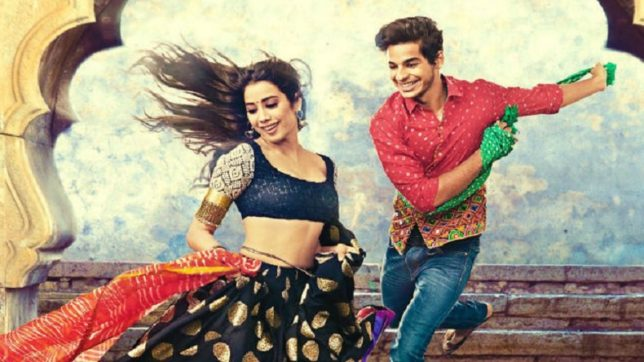 Ishaan Khatter And Jhanvi Kapoor's 'Dhadak' Poster Is Here To Impress You