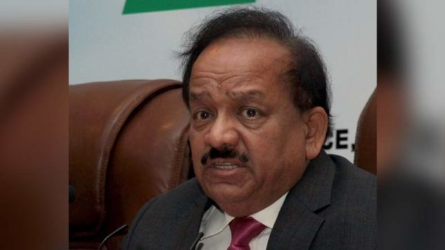 Delhi's air will be normal in 'next few days': Harsh Vardhan