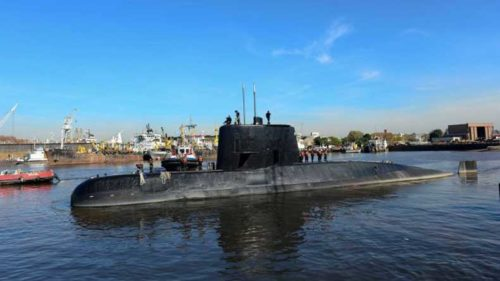Argentina's Navy detected 7 missed calls from missing submarine
