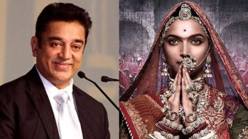 Padmavati row: Kamal Haasan tweets in support of Deepika Padukone