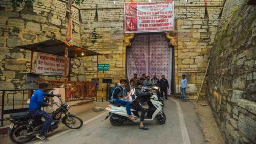 Entry to Chittorgarh Fort closed in protest against film Padmavati