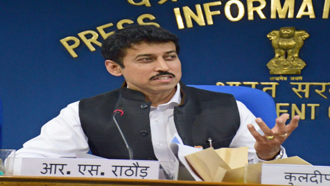 Sports Minister Rajyavardhan Singh Rathore mum on wrestler Sushil Kumar's mysterious 'golden' comeback