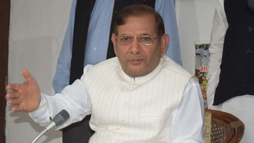 Sharad Yadav questions EC decision on JD(U) symbol, vows to fight on
