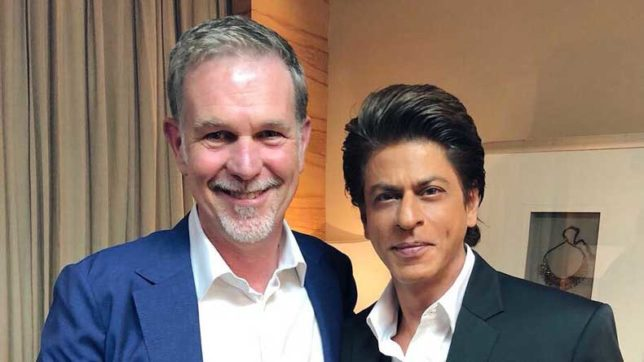 Shah Rukh Khan's Red Chillies Entertainment collaborates with Netflix for an original series