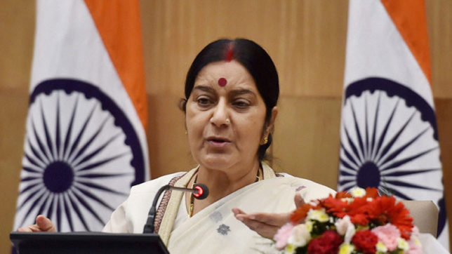 India committed to secure, inclusive cyber space: Sushma Swaraj