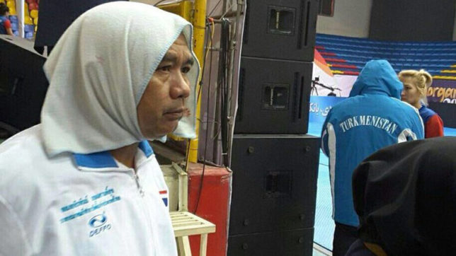 Thailand coach wears hijab, deceives security to enter women's kabaddi game in Iran