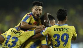 ISL 2017: CK Vineeth helps Kerala Blasters defeat 10-man NorthEast United by slender margin