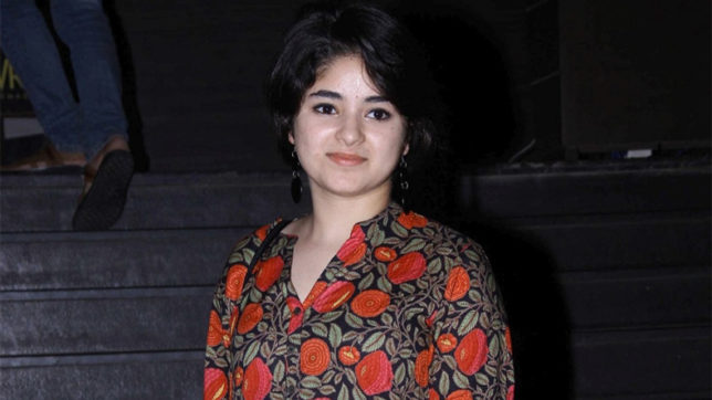 Immense support for Zaira Wasim after emotional video by the star goes viral