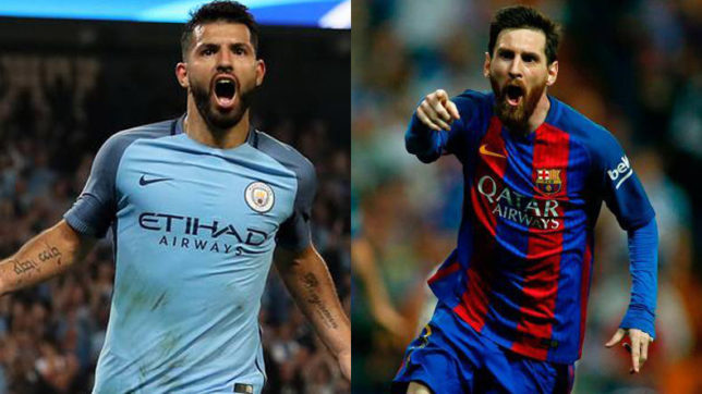 Manchester City stalwart Sergio Aguero best striker in the world reveals research; Lionel Messi best winger