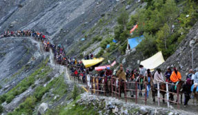Amarnath cave shrine not declared as 'silent zone'; devotees to maintain silence only in front of 'Shivalinga', clarifies NGT