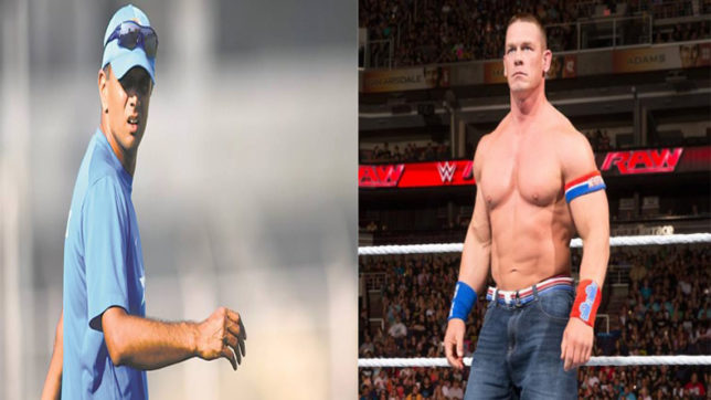 John Cena shares Rahul Dravid's quote on social media and Twitterati can't keep calm