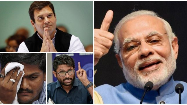 PM Modi-led BJP all set to rule Gujarat; why Hardik Patel and Rahul Gandhi failed again