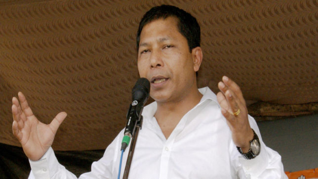 Meghalaya CM Mukul Sangma accuses PM Modi of making official programme a BJP rally