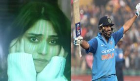 Emotional Ritika Sajdeh applauds husband Rohit Sharma's record 3rd double ton from stands in Mohali