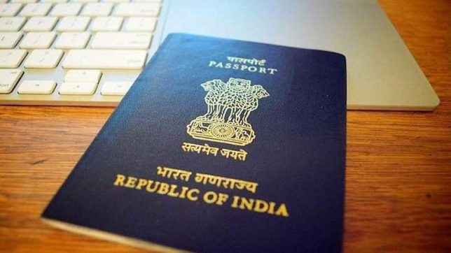 New passport with biometric data in microchip