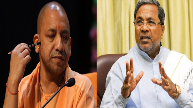 Yogi and Siddaramaiah spar on Twitter
