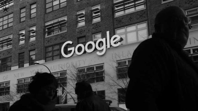 Google is being sued for allegedly discriminating against white men
