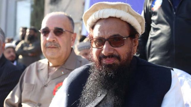 India issues demarche after Palestine envoy shares stage with terrorist Hafiz Saeed