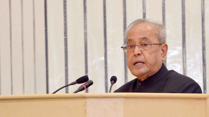 Former President Pranab Mukherjee asks Election Commission to put to end speculation of EVM mischief alleged by Opposition parties