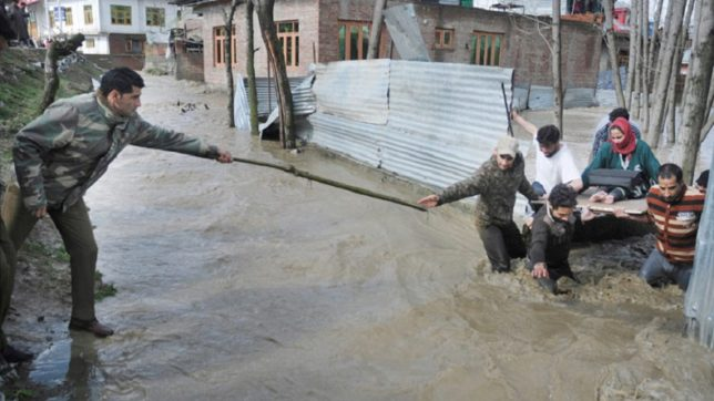 Jammu and Kashmir: Flood threat ends