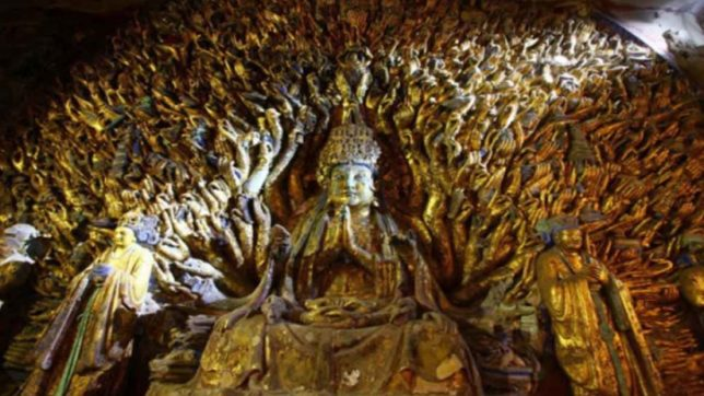 an analysis of the statue of buddah These mudras are depicted in many buddha statues in different parts of the world   note: buddhism is centuries old and rich in symbolism.