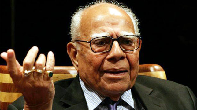 HC refuses to entertain plea against Delhi govt paying Ram Jethmalani's fee