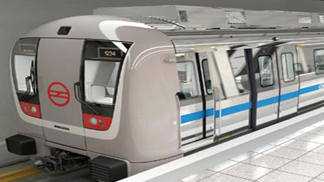 Old age home inmates enjoy special ride in Lucknow Metro