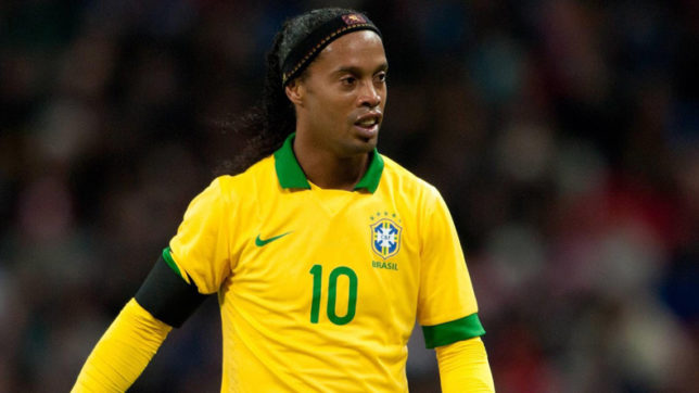 Brazil great Ronaldinho calls time on playing career