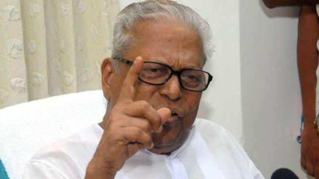 Achuthanandan wants strong action against moral policing