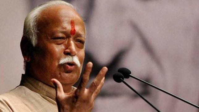 RSS chief Mohan Bhagwat backs inter-caste marriage