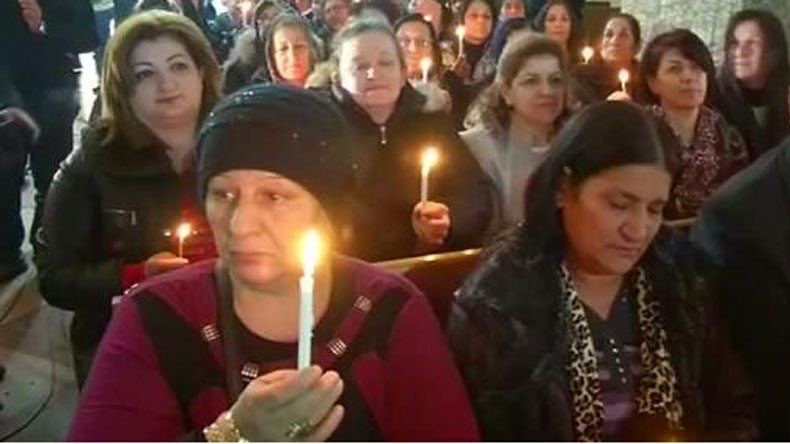 christmas celebrated in is liberated iraqi town for the first time - When Was The First Christmas Celebrated