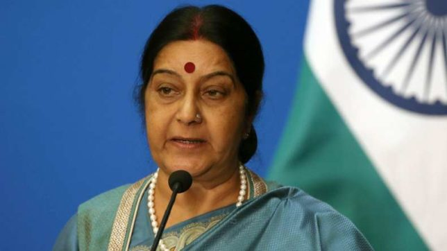 Mission staff in touch with wife of Indian killed in US: Sushma