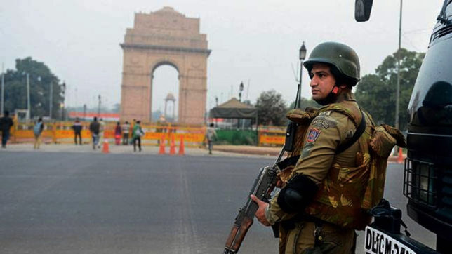 High security alert in Delhi for Independence Day celebrations