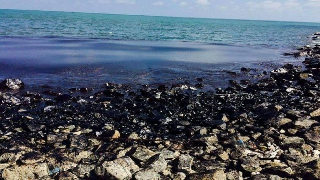 Collision of cargo ships causes massive oil spill near Chennai