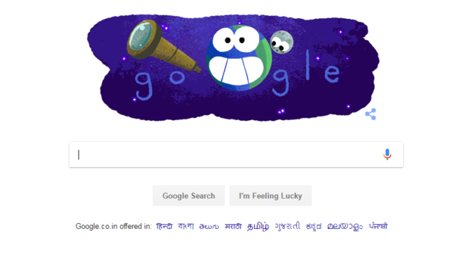 Google doodle celebrates discovery of seven exoplanets
