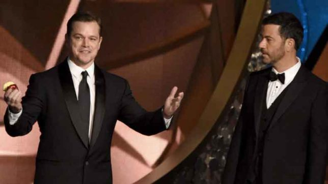 Jimmy-Kimmel-will-try-to-keep-Matt-Damon-off-Oscars'-stage