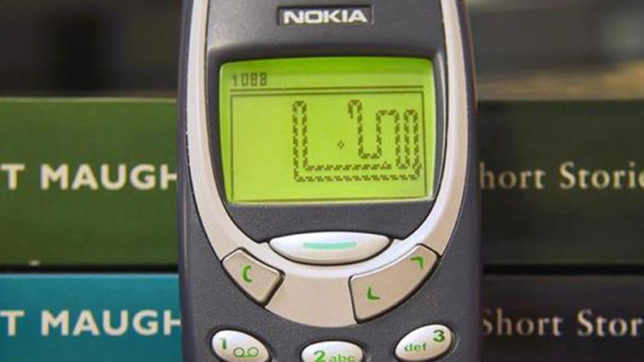 Nokia's-Snake-game-available-on-Messenger