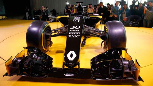 Renault-unveils-new-Formula-One-car--for-2017-season
