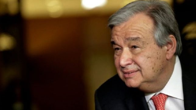 International community should not take European peace for granted: Antonio Guterres
